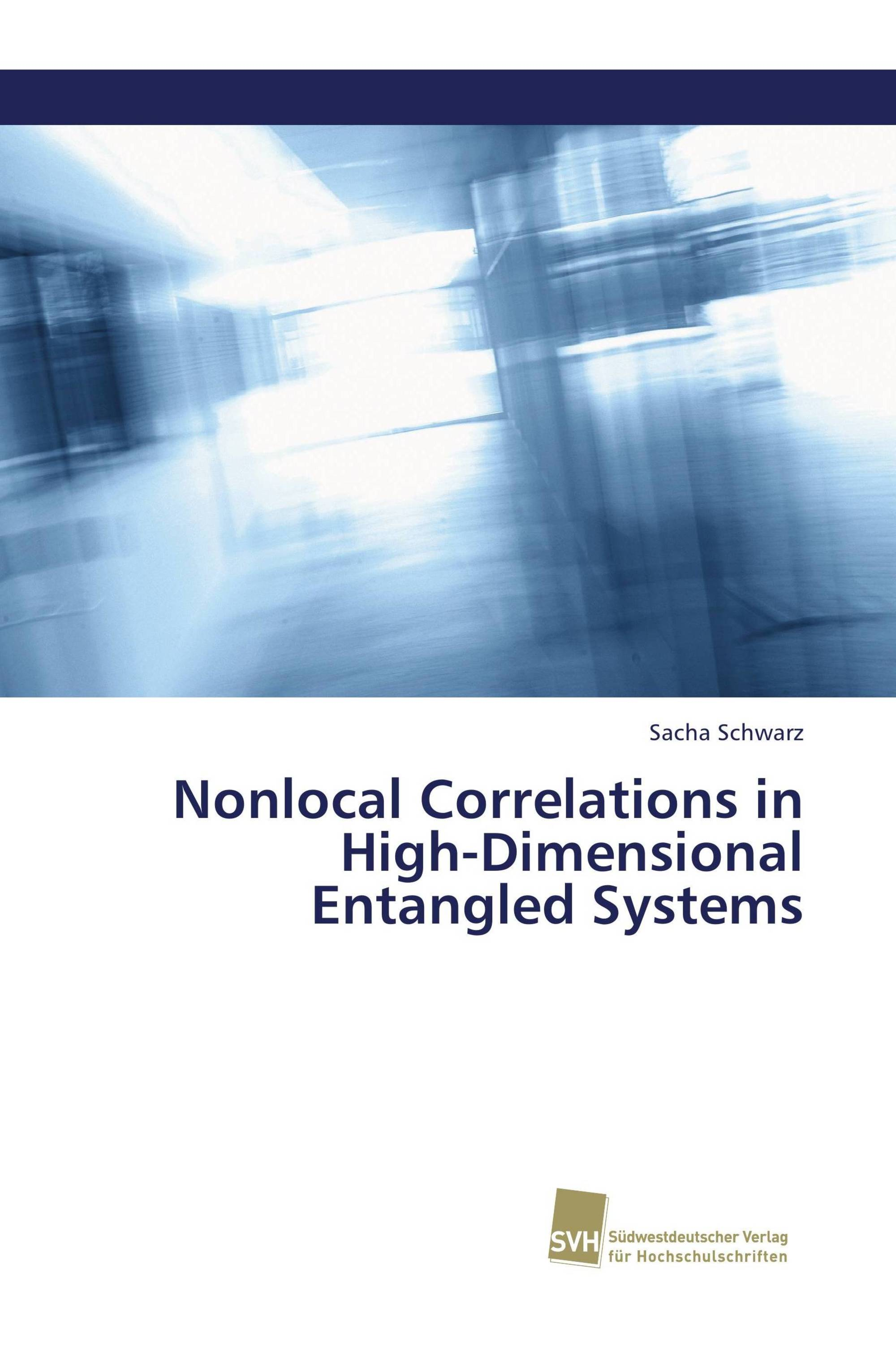 Nonlocal Correlations in High-Dimensional Entangled Systems