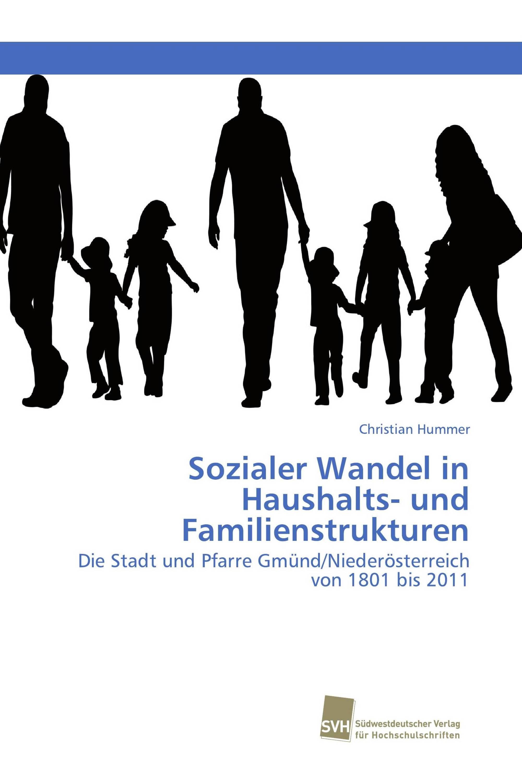 Sozialer Wandel in Haushalts- und Familienstrukturen