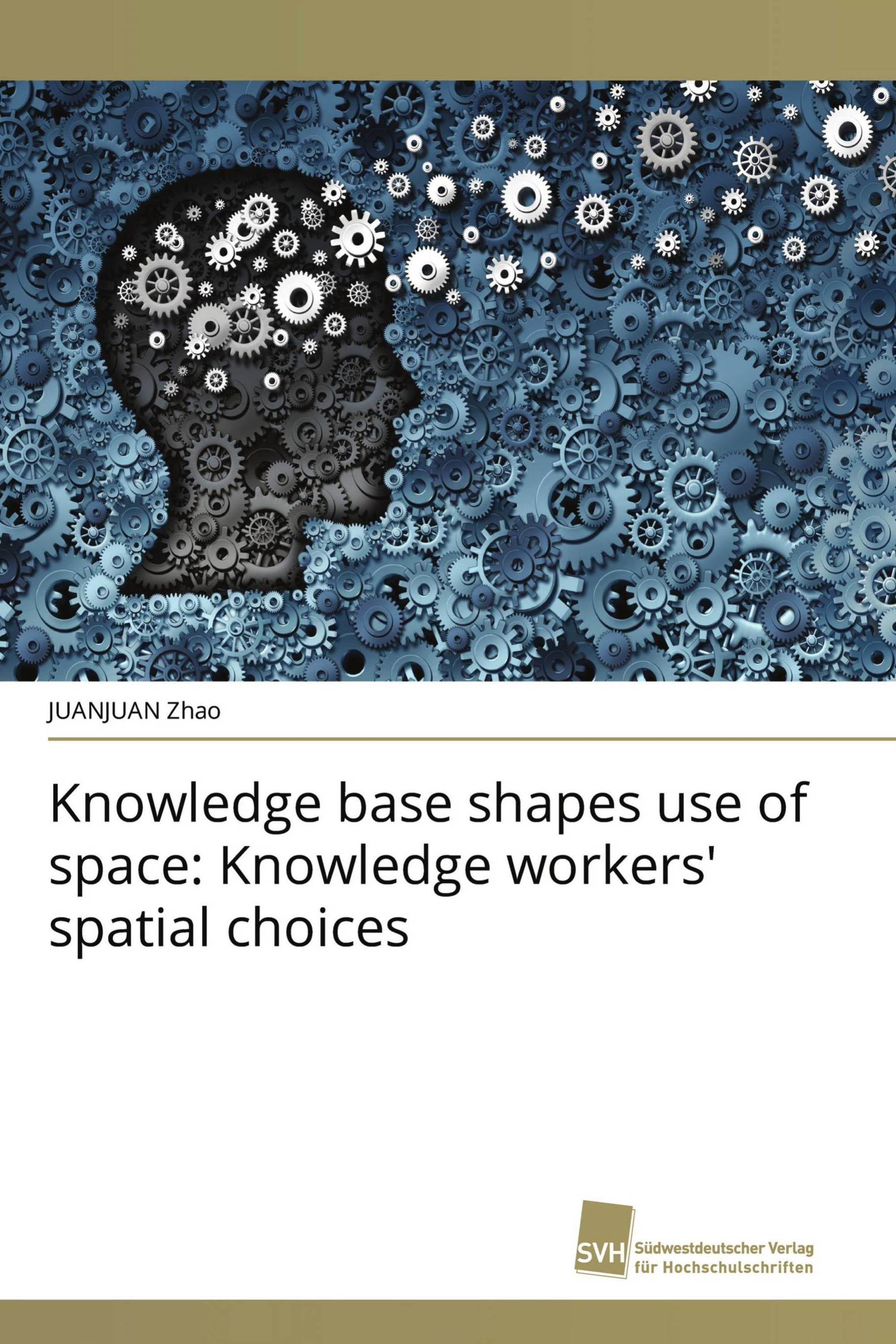 Knowledge base shapes use of space: Knowledge workers' spatial choices