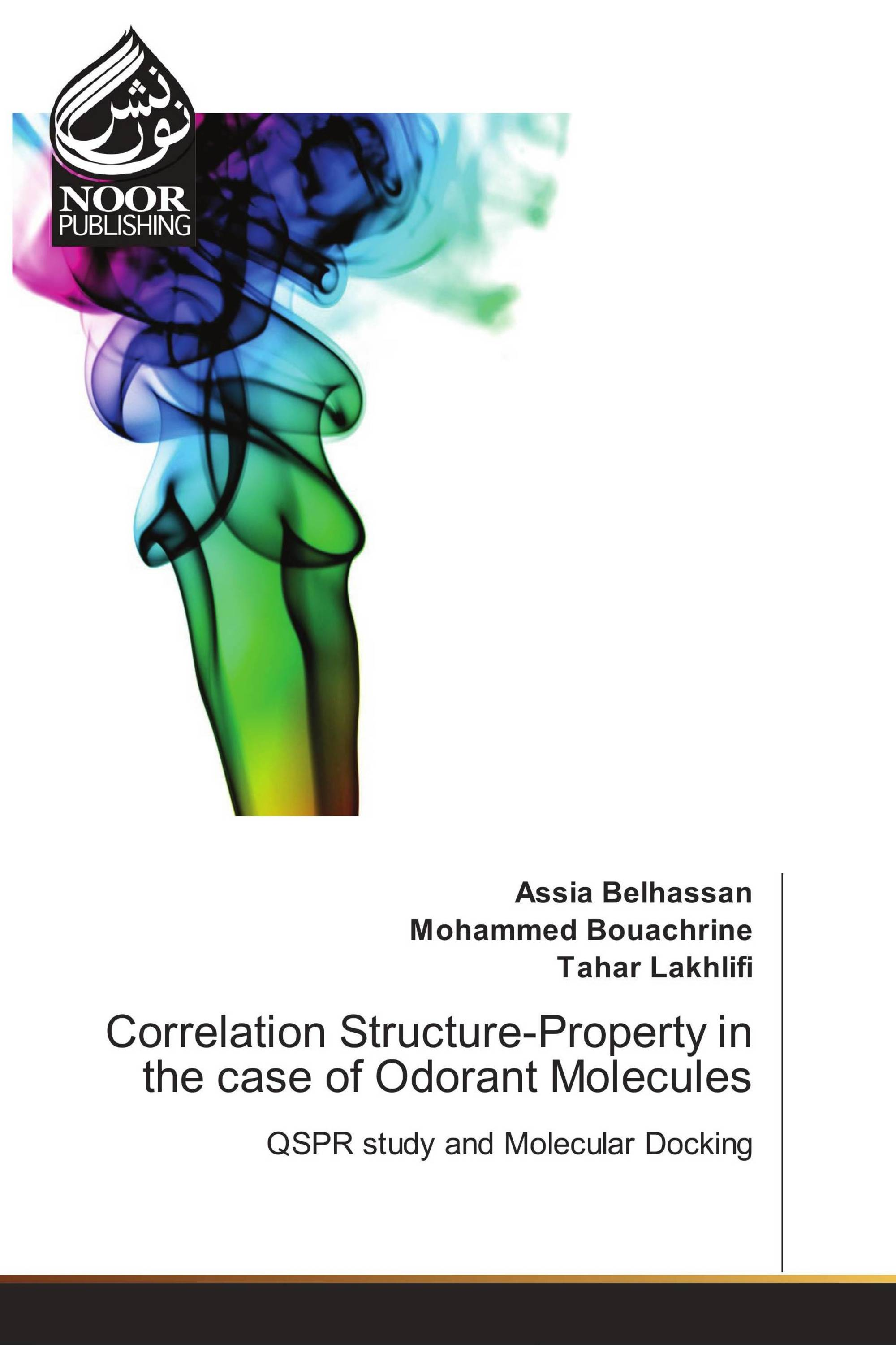Correlation Structure-Property in the case of Odorant Molecules