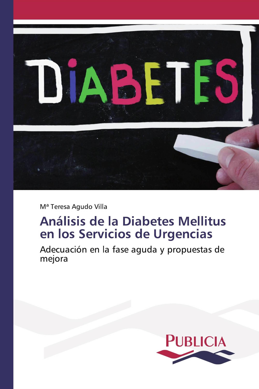 Análisis de la Diabetes Mellitus en los Servicios de Urgencias