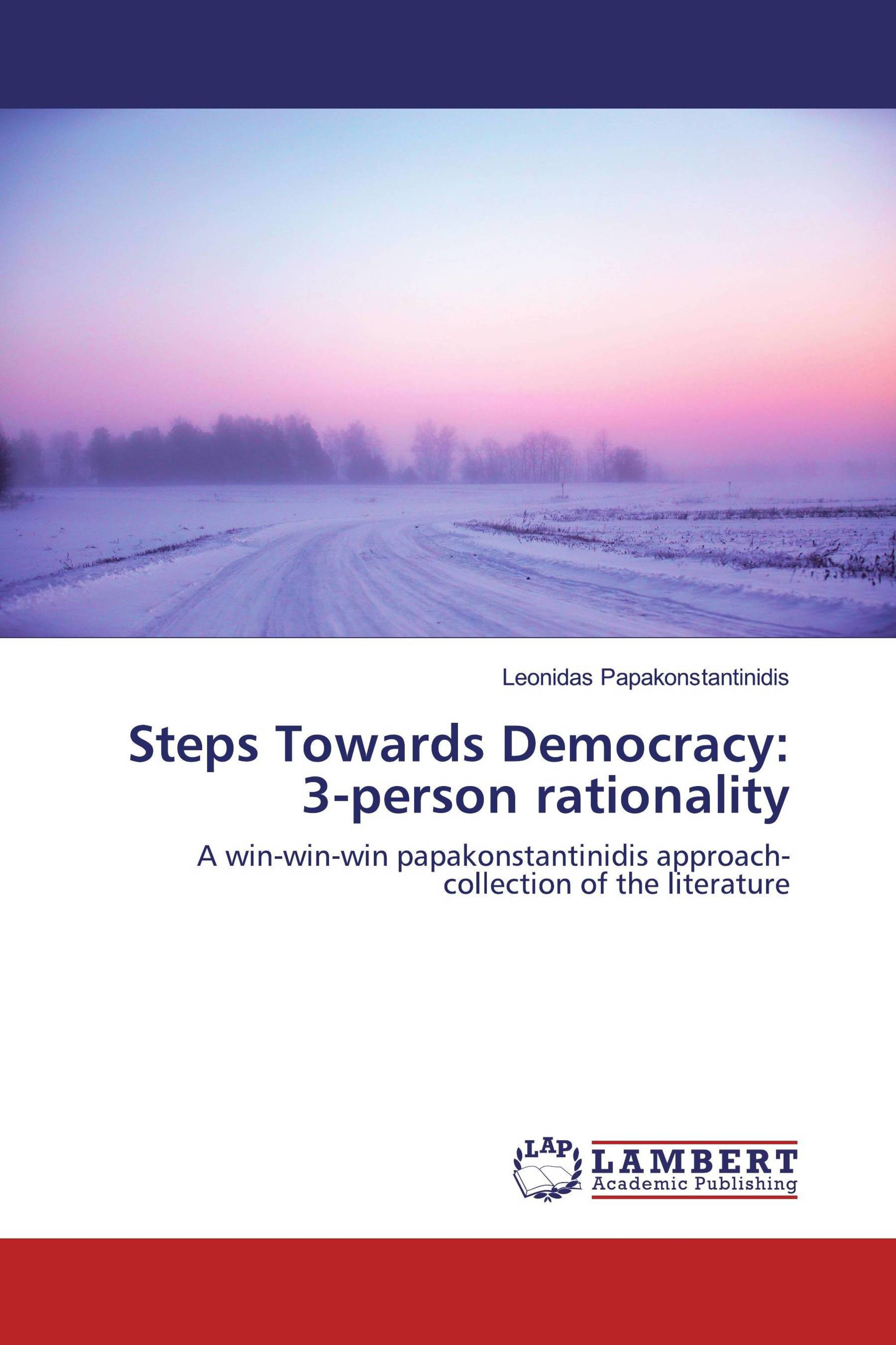 Steps Towards Democracy: 3-person rationality