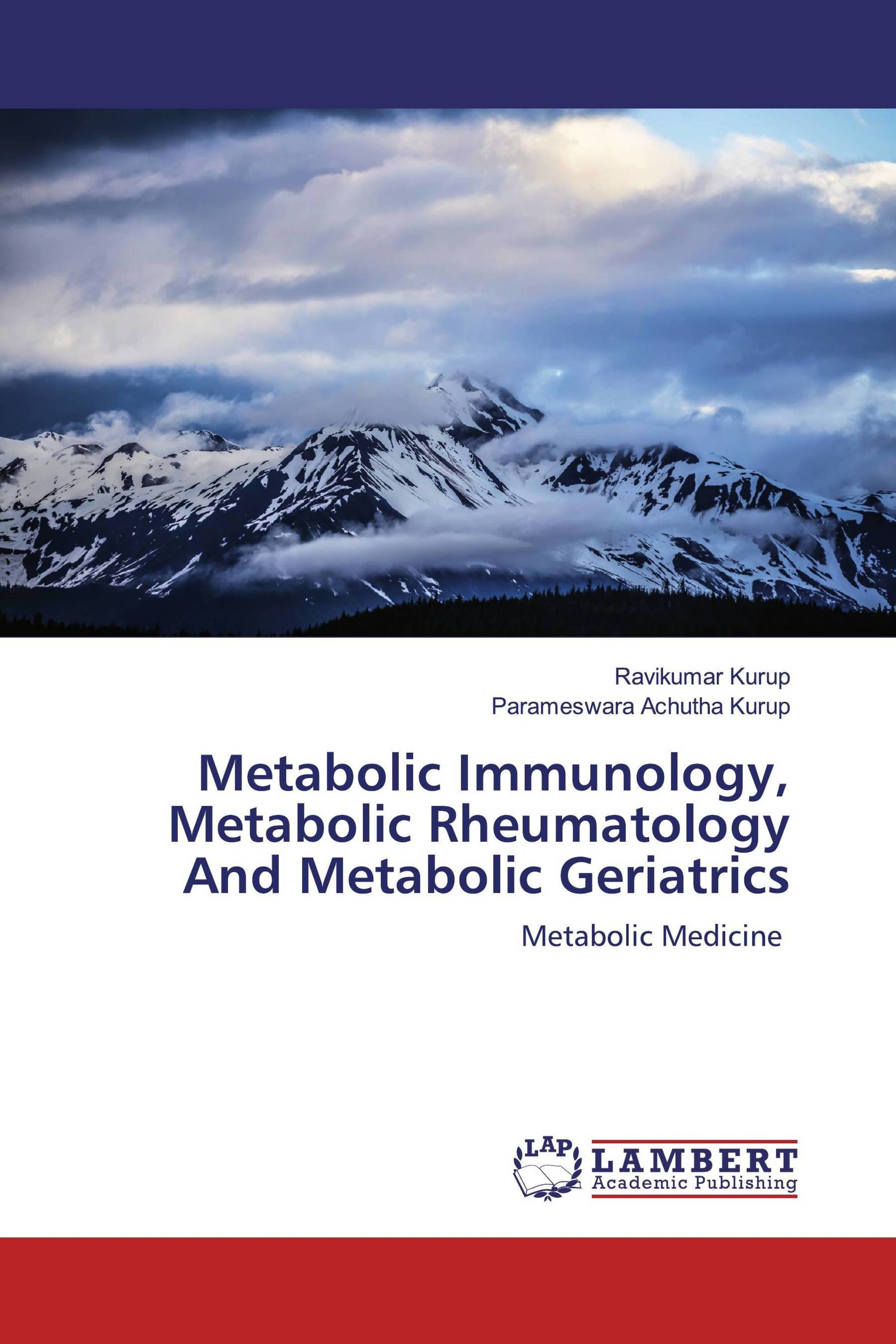 Metabolic Immunology, Metabolic Rheumatology And Metabolic Geriatrics