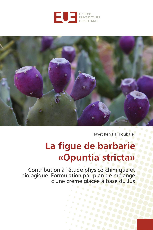 La figue de barbarie «Opuntia stricta»