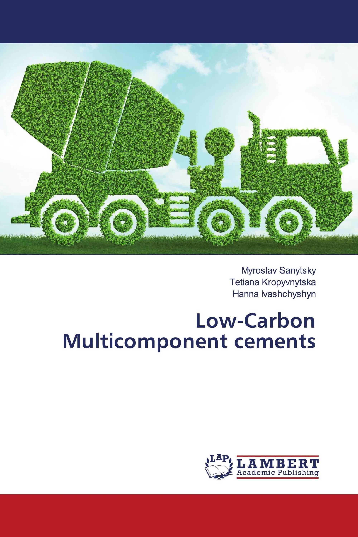 Low-Carbon Multicomponent cements