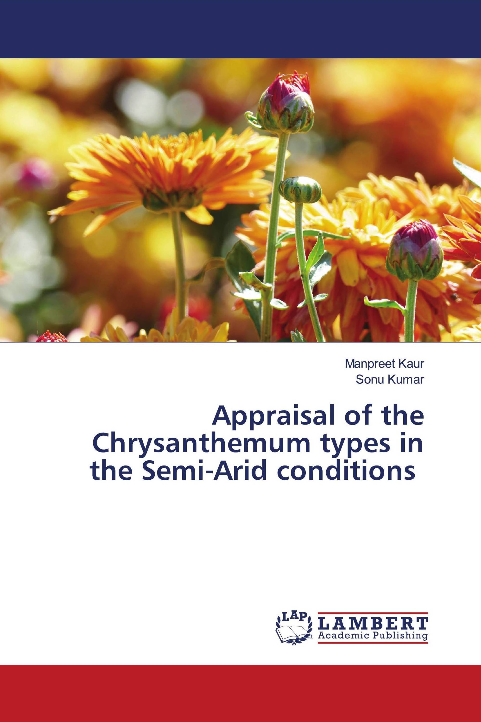 Appraisal of the Chrysanthemum types in the Semi-Arid conditions
