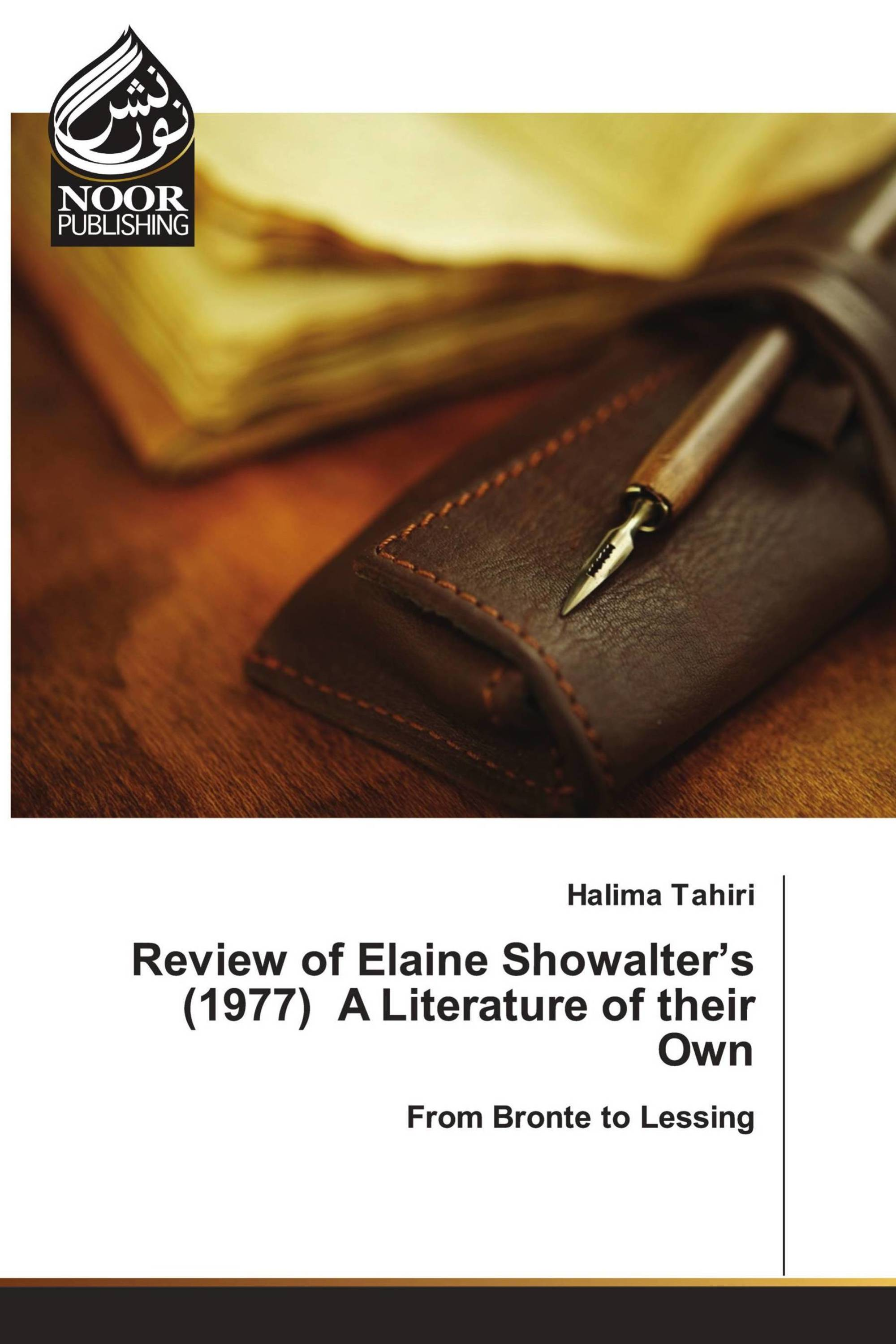 Review of Elaine Showalter's (1977) A Literature of their Own