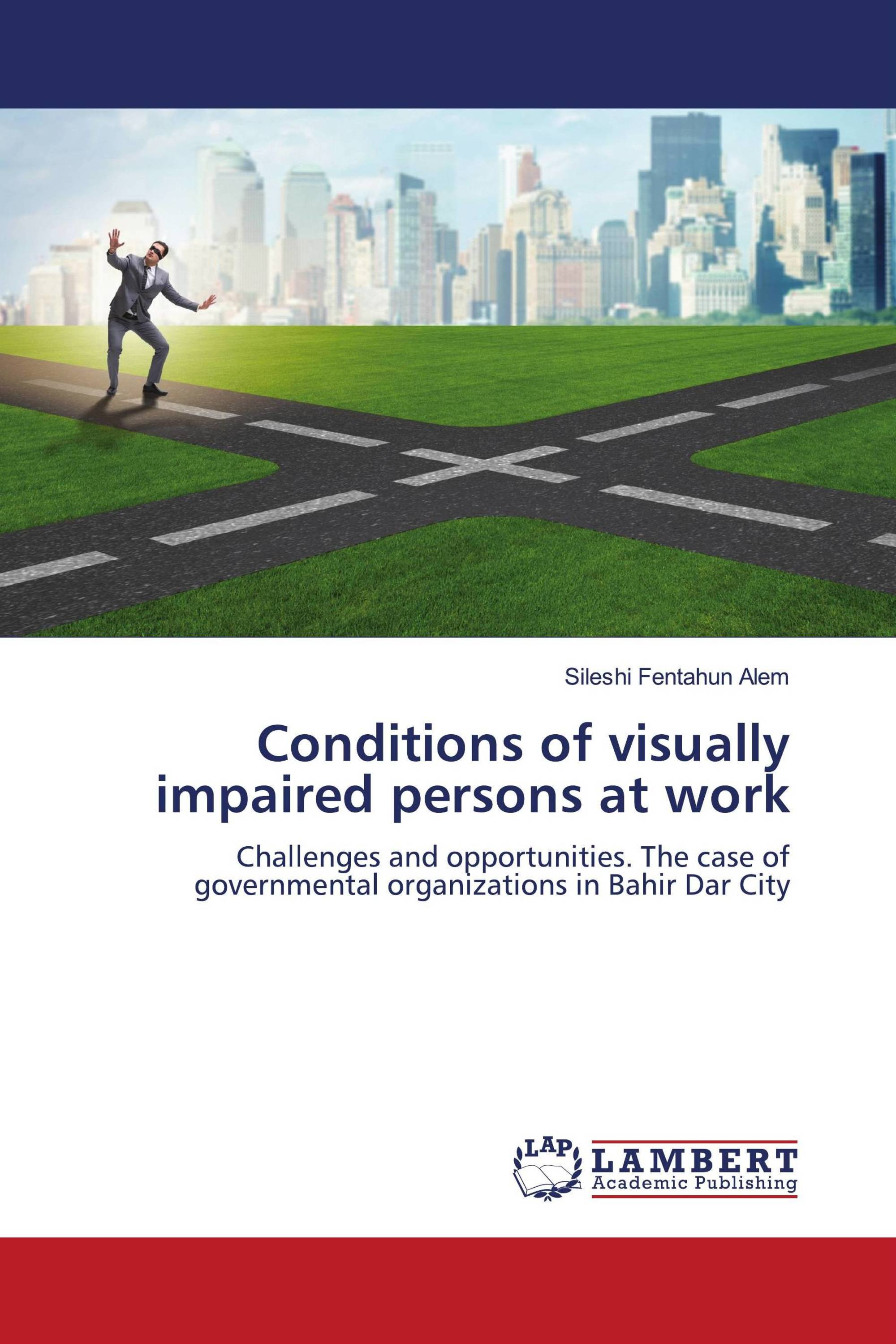 Conditions of visually impaired persons at work
