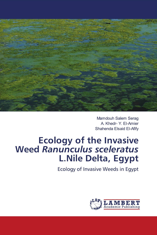 Ecology of the Invasive Weed Ranunculus sceleratus L.Nile Delta, Egypt