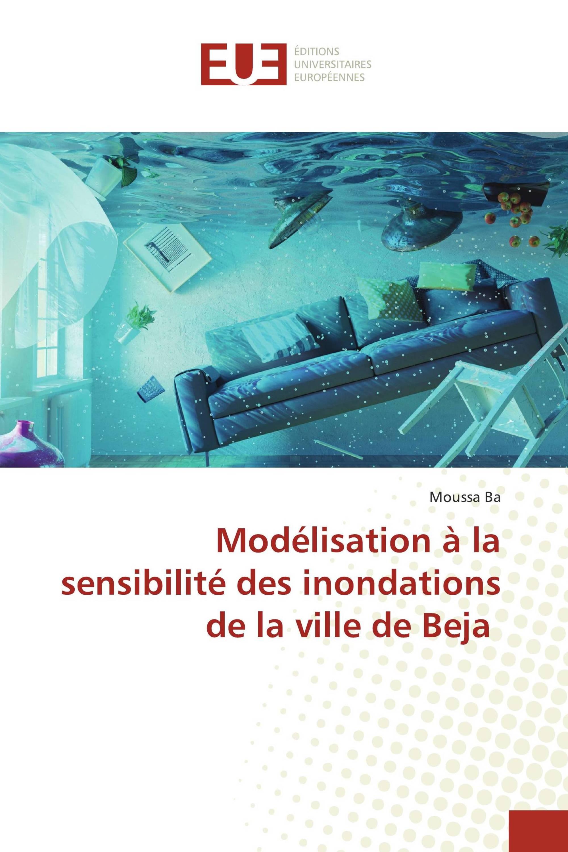 Modélisation à la sensibilité des inondations de la ville de Beja