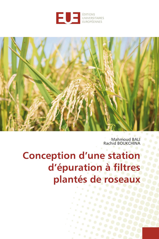 Conception d'une station d'épuration à filtres plantés de roseaux