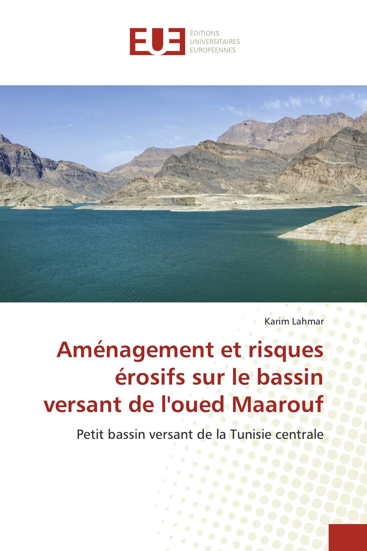 Aménagement et risques érosifs sur le bassin versant de l'oued Maarouf