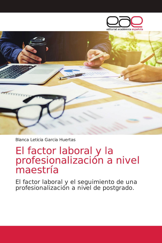 El factor laboral y la profesionalización a nivel maestría