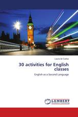 30 activities for English classes