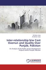 Inter-relationship b/w Cost Overrun and Quality Over Punjab, Pakistan