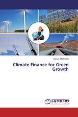Climate Finance for Green Growth