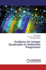 Problems On Integer Quadruples In Arithmetic Progression