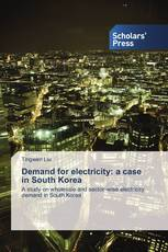 Demand for electricity: a case in South Korea