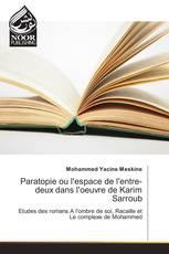Paratopie ou l'espace de l'entre-deux dans l'oeuvre de Karim Sarroub