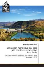 Simulation numérique sur trois jets coaxiaux, combustion turbulente