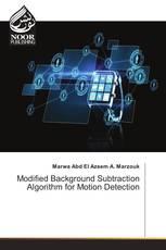 Modified Background Subtraction Algorithm for Motion Detection