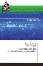 Quantification des représentations sur-complètes