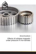 Effects of collapse magnetic under pressure in iron borides