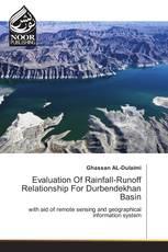 Evaluation Of Rainfall-Runoff Relationship For Durbendekhan Basin