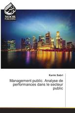 Management public. Analyse de performances dans le secteur public
