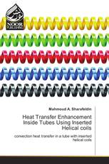 Heat Transfer Enhancement Inside Tubes Using Inserted Helical coils