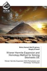 Wiener Hermite Expansion and Homotopy Method for Solving Stochastic DE