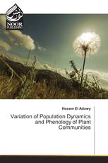 Variation of Population Dynamics and Phenology of Plant Communities