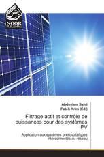 Filtrage actif et contrôle de puissances pour des systèmes PV