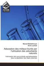 Adsorption des métaux lourds par l'utilisation des adsorbants naturels