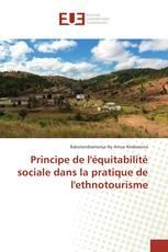 Principe de l'équitabilité sociale dans la pratique de l'ethnotourisme