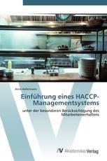 Einführung eines HACCP-Managementsystems