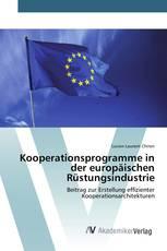 Kooperationsprogramme in der europäischen Rüstungsindustrie
