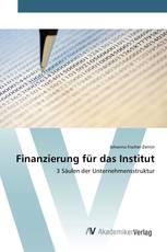 Finanzierung für das Institut