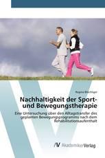 Nachhaltigkeit der Sport- und Bewegungstherapie