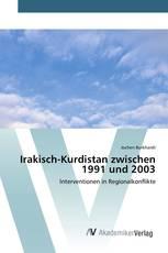Irakisch-Kurdistan zwischen 1991 und 2003