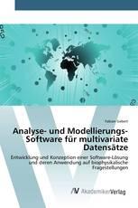 Analyse- und Modellierungs-Software für multivariate Datensätze