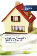 Institutional Finance For Housing In Tirupati
