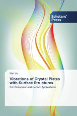Vibrations of Crystal Plates with Surface Structures