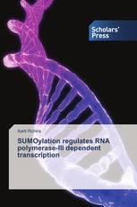 SUMOylation regulates RNA polymerase-III dependent transcription