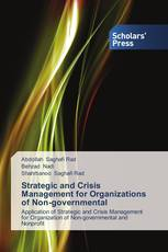 Strategic and Crisis Management for Organizations of Non-governmental