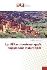 Les PPP en tourisme: quels enjeux pour la durabilité