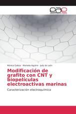 Modificación de grafito con CNT y biopelículas electroactivas marinas