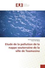 Etude de la pollution de la nappe souterraine de la ville de Toamasina