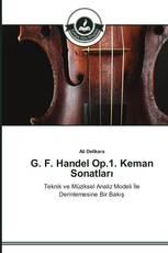 G. F. Handel Op.1. Keman Sonatları