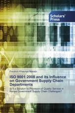 ISO 9001:2008 and its Influence on Government Supply Chain Departments